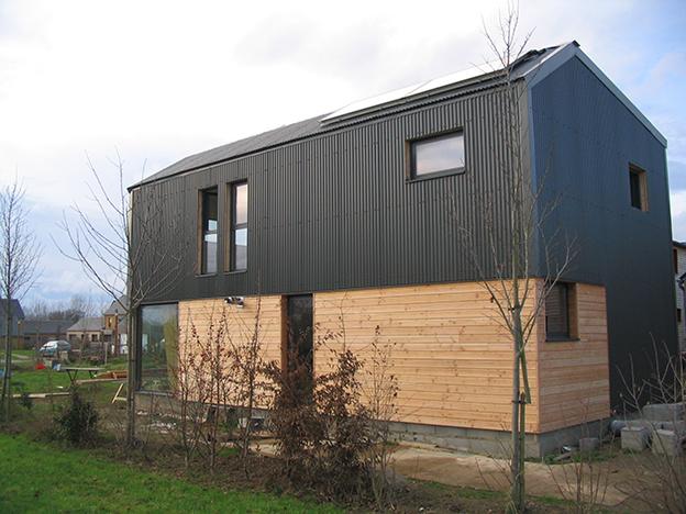 bardage aluminium anodis immeuble newtime tess les 25. Black Bedroom Furniture Sets. Home Design Ideas